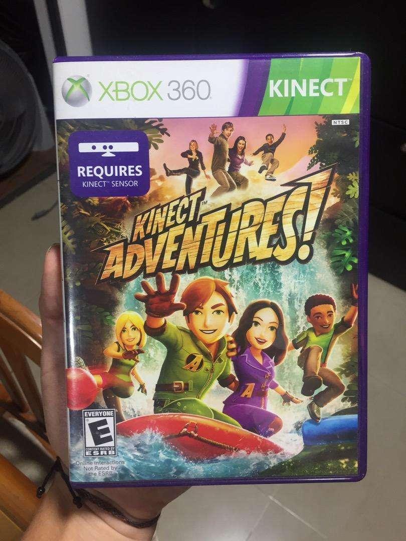 Vendo Kinect Adventures y Kinect para Xbox 360 0