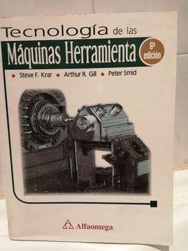 Vendo libro Tecnología de las máquinas herramientas