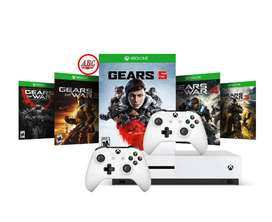 Xbox One S 1tb Gears Of War 5 + 4 Juegos Extra + 2 Controles