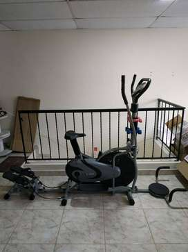 Bicicleta Eliptica Multifuncional 6 en 1