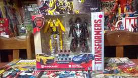 Transformers Pack Original Bumblebe Y Autobot Hot Rod