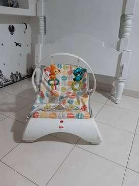 Se vende silla vibradora para relajar bebes