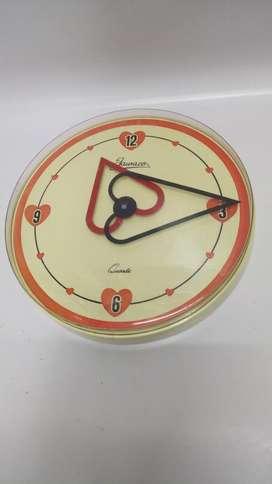 Reloj Pared Antiguo Jawaco Germány 60's