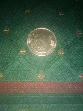 Moneda de colección 200 años cartegena