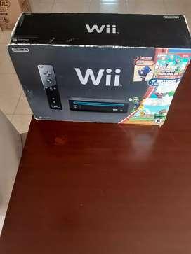 Vendo Nintendo Wii negro