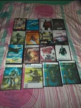 Vendo 42 juegos de PC