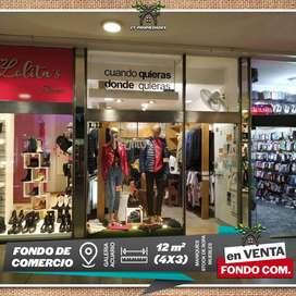 Fondo de Comercio GALERÍA ACUARIO 1, ctro de VILLA CARLOS PAZ.
