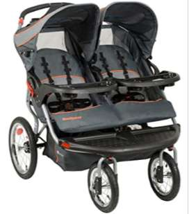 Coche Doble Gemelar importado Marca BabyTrend Navigator Jogger