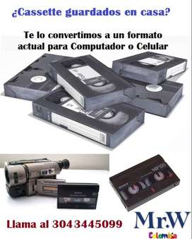 Convertir videos antiguos en formatos actuales