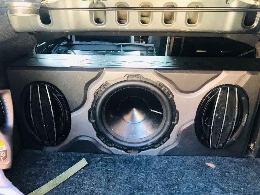 Kit de sonido plata más bafle de sonido 0