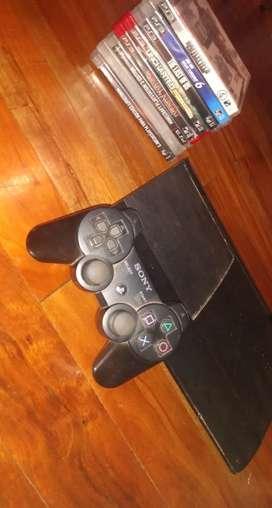 Play 3, con control y 8 juegos perfecto estado (usado)