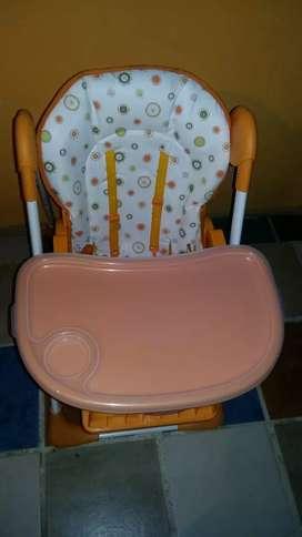 Vendo silla para bebé en buen estado