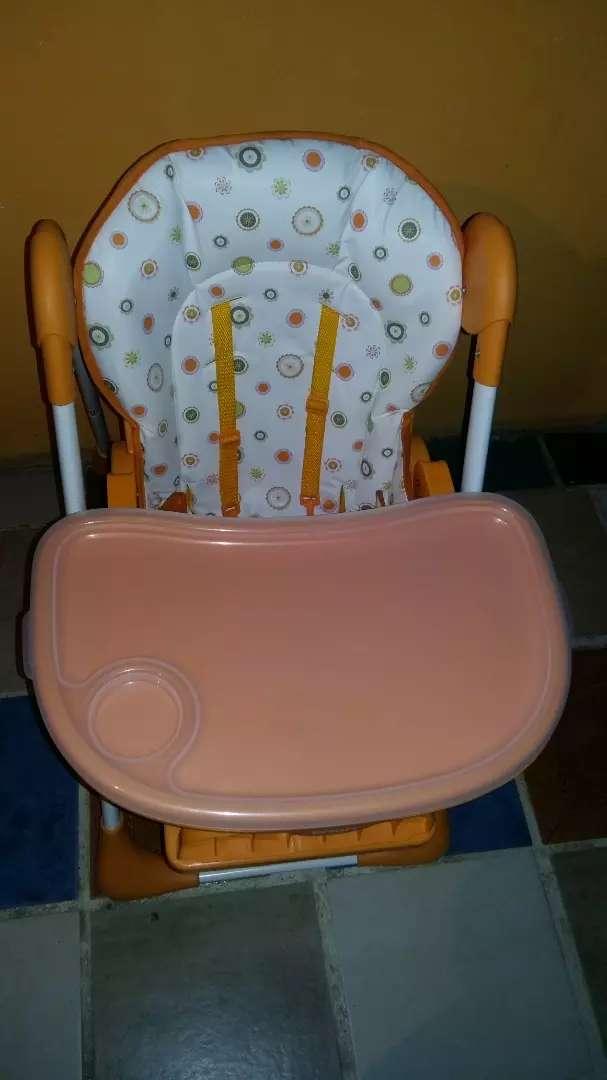 Vendo silla para bebé en buen estado 0