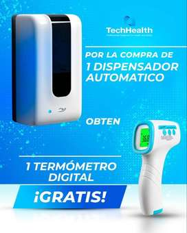 Termometro Digital GRATIS por Dispensador Automatico