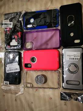 Estuches para teléfonos nuevos, iPhone X y XS _ Samsung S 10 y S10 plus _ iPhone max _ samsung A20 e _galaxy note 9