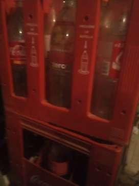 Envases de Coca y de Cerveza