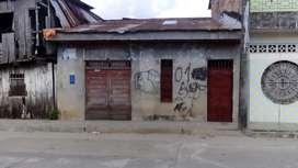 Venta de casa frente a calle en Iquitos