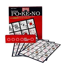 Juego Pokeno Bicycle 12 Tableros 200 Fichas Cartas Original