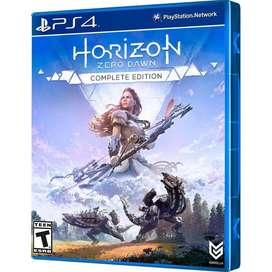 Horizon Zero Dawn: Complete Edition, para Ps4, JUEGO FISICO,NUEVO SELLADO