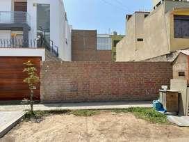 Terreno Residencial - Único en Excelente Ubicación en La Molina (160 m2)
