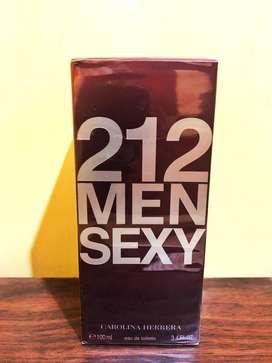 Perfume 212 Men Sexy Carolina Herrera en presentacion de 100ml