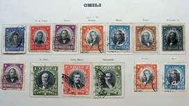 Sellos postales de Chile 1911 – 1915