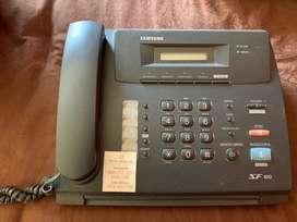 Fax y telefono con memorias Samsung SF 100