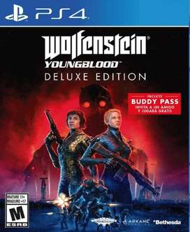 Wolfenstein Youngblood Playstation 4 Ps4, Físico