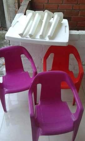 Mesa para niños