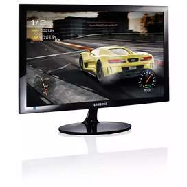 Gran remate de monitores samsung tipo gaming de 24 pulgadas