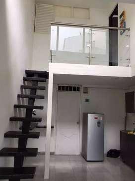 Apartamento duplex con renta