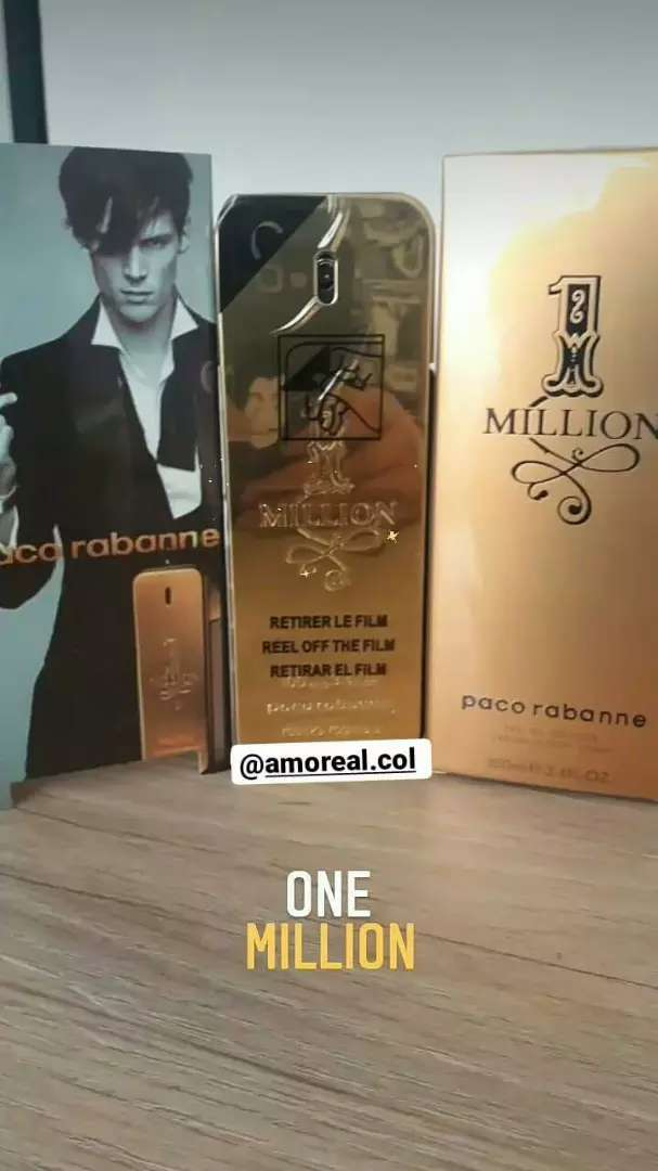 Perfume One Million Pacco Robanne 0