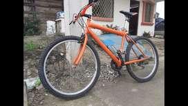 Bicicleta montañera barata negociable todo shimano