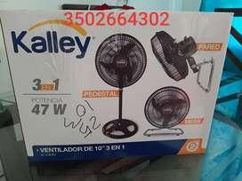 ventilador kalley Nuevo