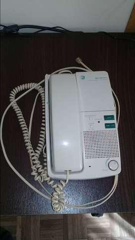 TELEFONO (VINTAGE) GENERAL ELECTRIC, CON CONTESTADOR AUTOMATICO