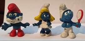 Muñecos Plastico Juguete Infantil Pitufos Peyo Schleich ASP