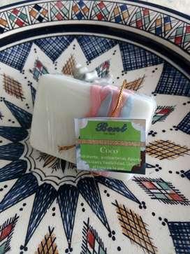 Jabón Terapéutico y decorativo de Coco !!