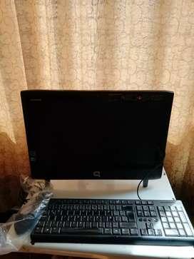 Vendo computador todo en uno Compaq - usado.
