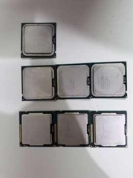 Lote de procesadores Intel Celeron G530, E3400, D