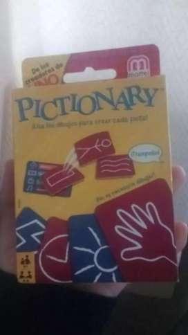 Pictionary tarjetas (juego)