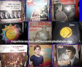 Discos simples sin estrenar en sus sobres originales