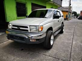 Toyota 4runner mecánico 4 cilindros