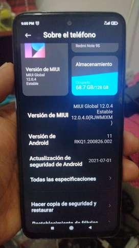Vendo Xiaomi Redmi Note 9S