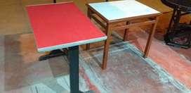 Mesas 3 unidades (75cm X 60cm)
