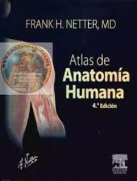 Libro de Medicina. Descripción: Netter - Atlas de anatomía humana 4ed.