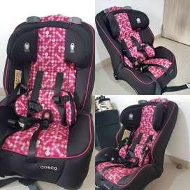 Silla para carro bebé niña