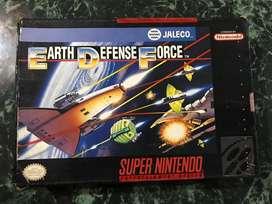 Earth defence force super nintendo snes nes atari sega wii xbox dreamcast n64 3ds