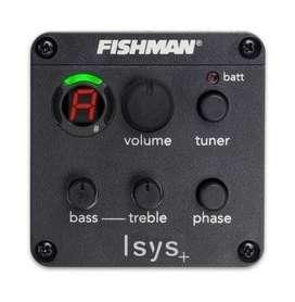 Fishman Isys Ecualizador Guitarra Charango Preamp Afinador
