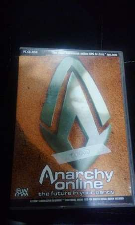 Anarchy Online The future in your Hands usado