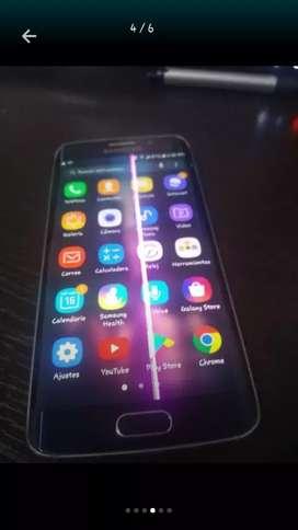 S6 edge linea en la pantalla no afecta nada!!!